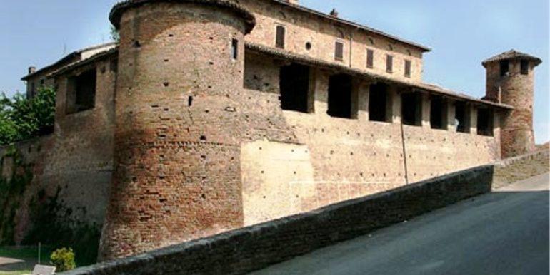 Paesaggio del Comune di  Castelletto Molina (AT)
